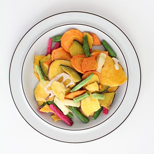 やみつき8種の野菜チップス
