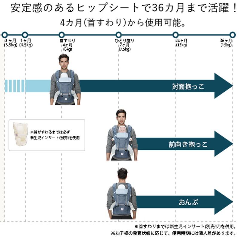 【お取り寄せ商品】POGNAE(ポグネー)NO5neo ヒップシートキャリア グレー