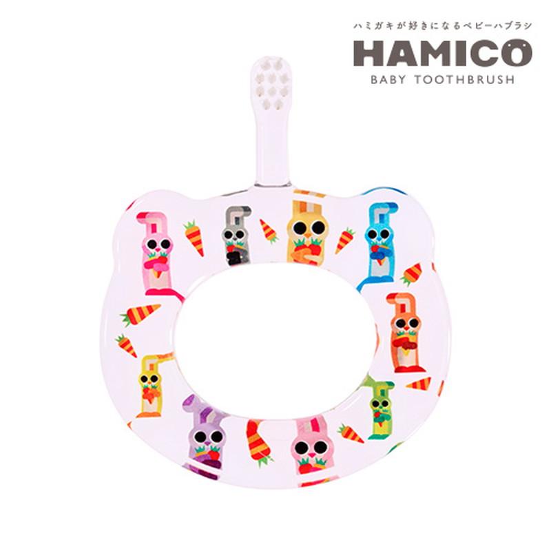 HAMICO(ハミコ)12Animals 1ウサギ ベビー歯ブラシ