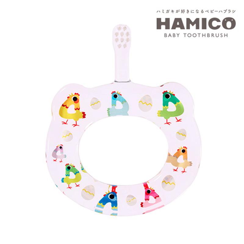 HAMICO(ハミコ)12Animals 4ニワトリ ベビー歯ブラシ