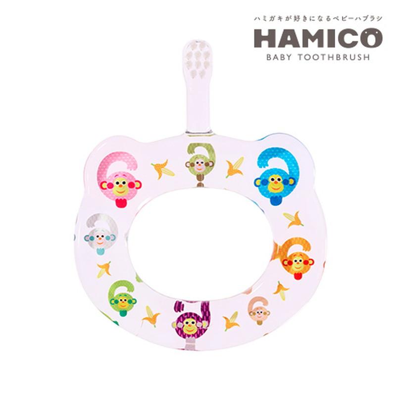 HAMICO(ハミコ)12Animals 6サル ベビー歯ブラシ