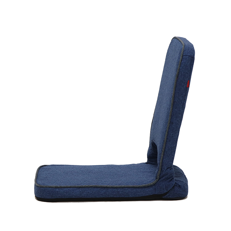Harmonia 折り畳みフロアチェア ブルー