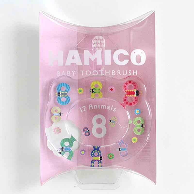 HAMICO(ハミコ)12Animals 8チョウ ベビー歯ブラシ