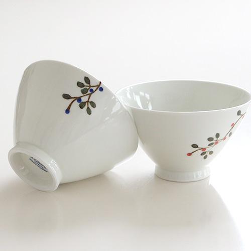 花つなぎ茶碗 大