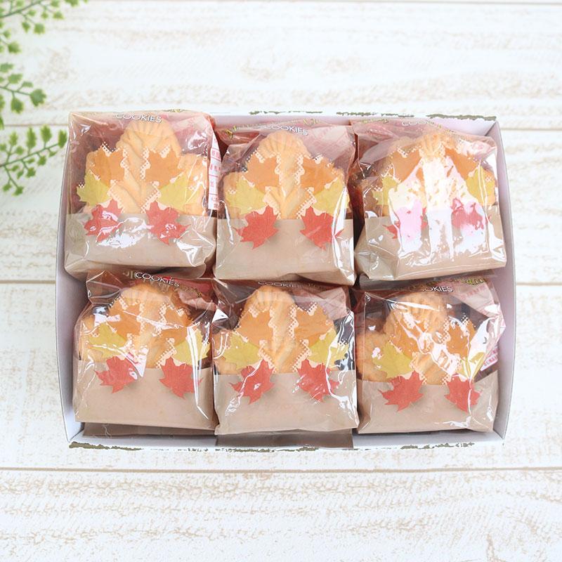 テイストデライト メイプルリーフクリームクッキー6個ギフト★セット品