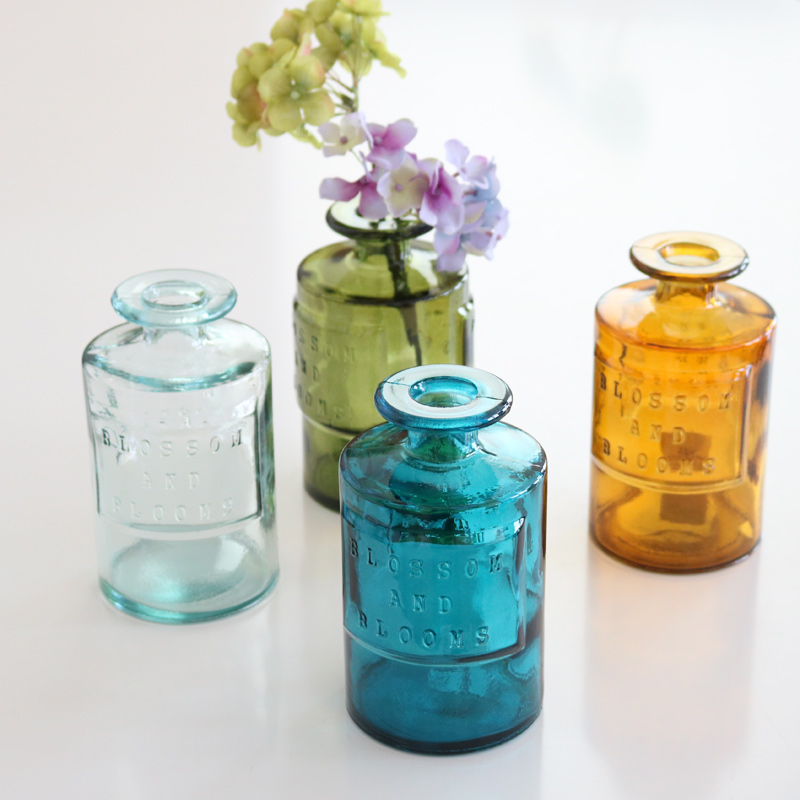 VALENCIA リサイクルガラスフラワーベース SIETE AM