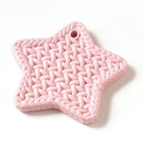 10moisTEETHER(歯がため) スターホルダー付 ピンク