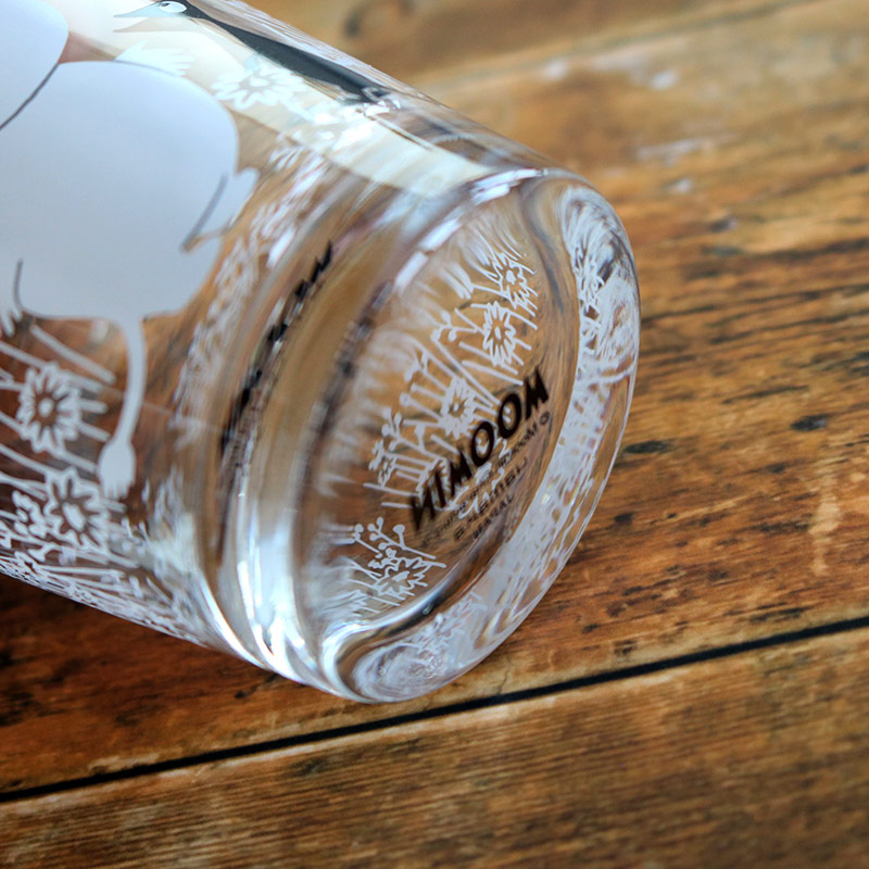 ガラスタンブラー ムーミン