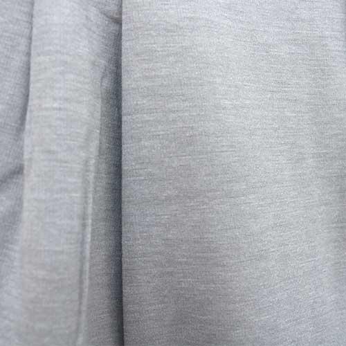 トリックジップテーパードストレッチ杢調 ライトグレー