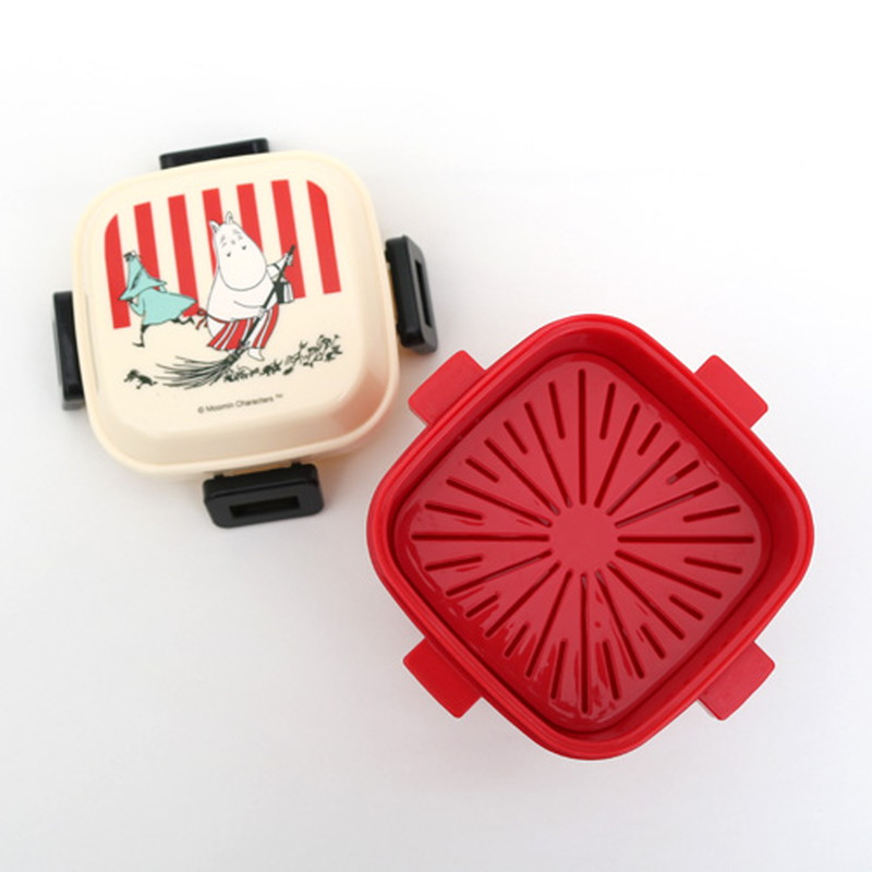 ムーミン4ロックサラダランチボックス