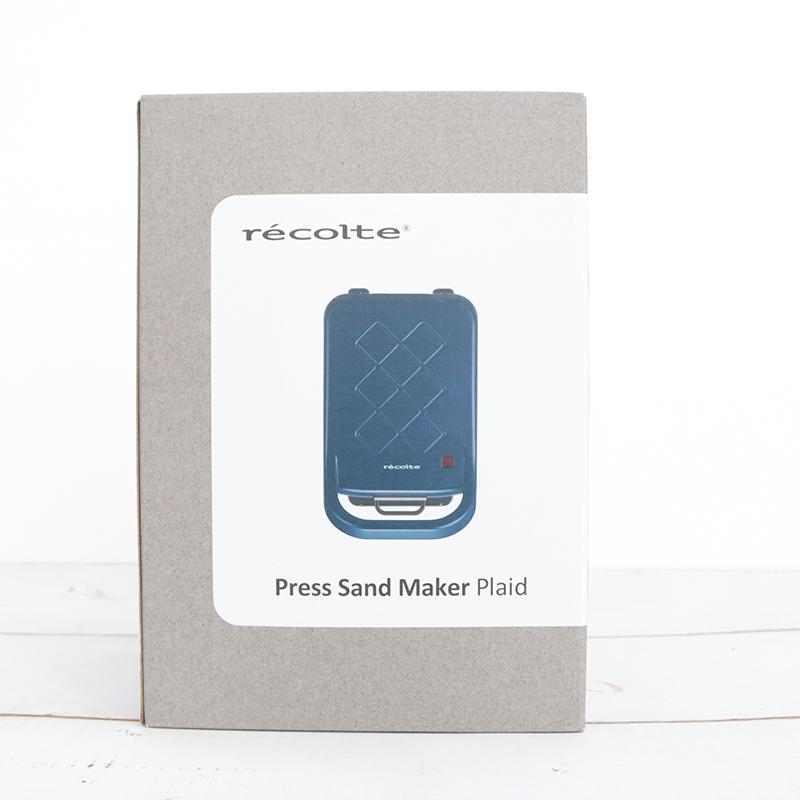 レコルト プレスサンドメーカープラッドマット