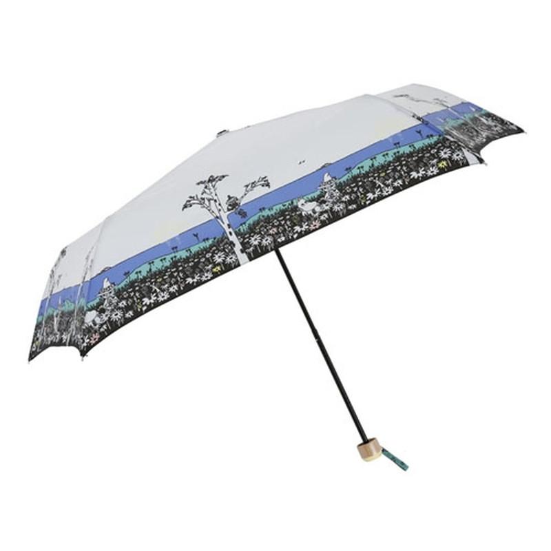折傘 ムーミン ねころび