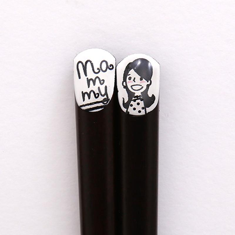 ファミリー箸 Mammy21cm 【名入れサービス付き】