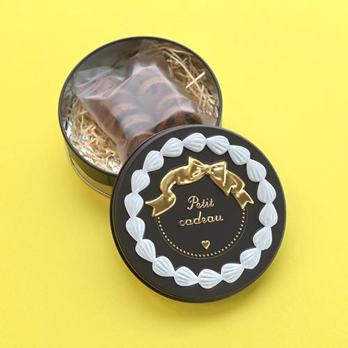 クッキー缶 ショコラ