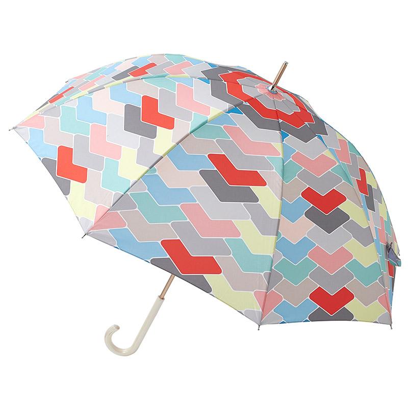 estaa長傘 あまどい レッド (晴雨兼用/UV)