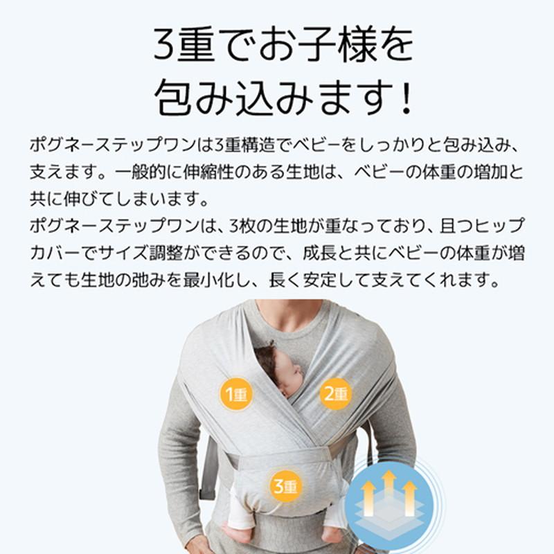 【お取り寄せ商品】POGNAE(ポグネー)ステップワン 一体型 メランジブルー