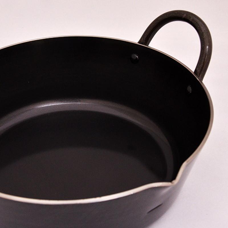 Health Kitchen(ヘルスキッチン) 鉄製本格揚げ鍋20cm