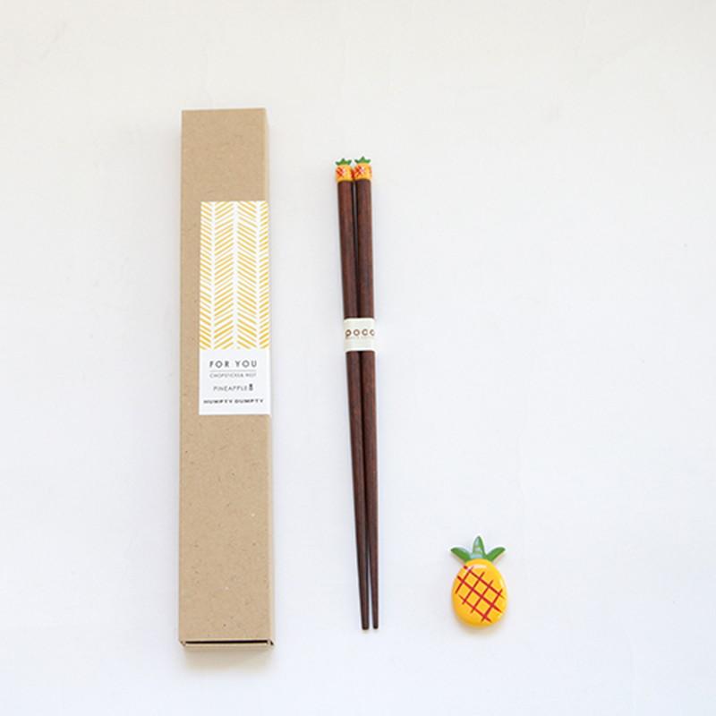 POCO箸+箸置 FOOD