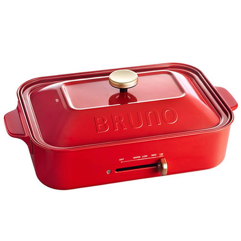 BRUNO(ブルーノ) コンパクトホットプレート BOE021レッド