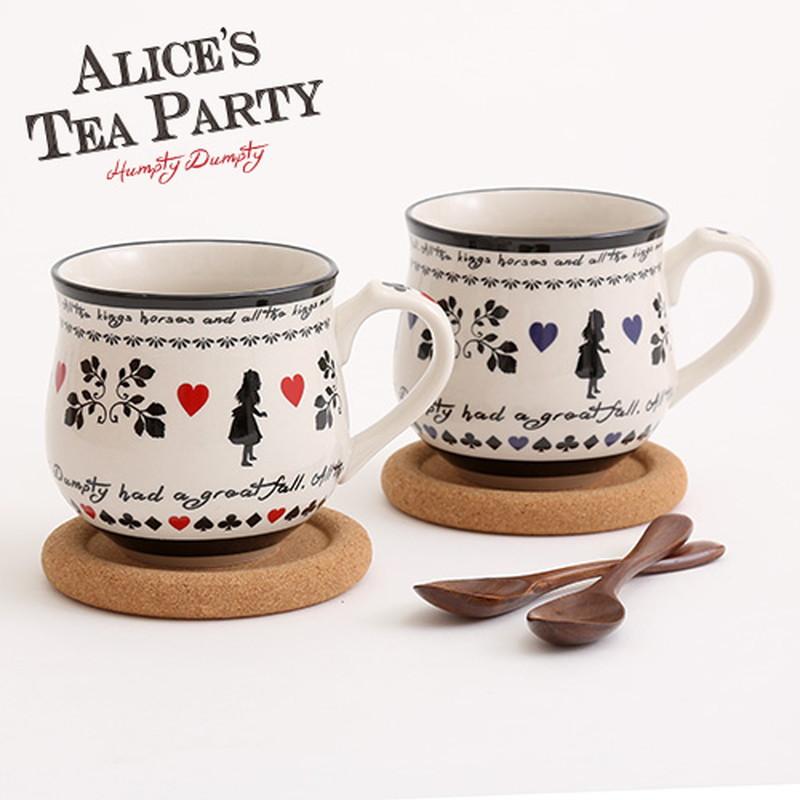 ALICE'S TEA PARTY アリスペアマグセット