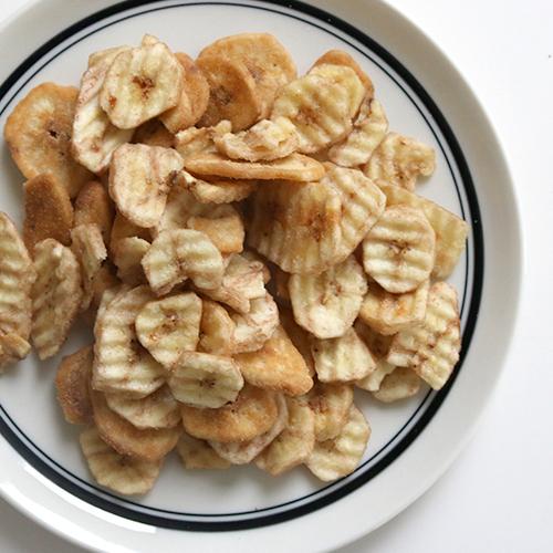 キャラメルバナナ&塩バナナチップス