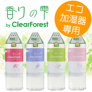 香りの雫 ローズ おくだけ森林浴 by ClearForest U02F-07 アロマウォーター アロマ水