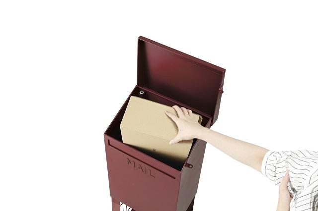 宅配メールボックス キューブレッド ポスト