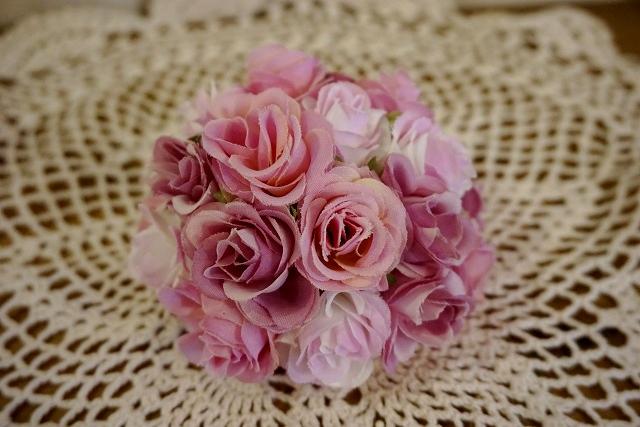 ローズハーフボール FD4301 造花