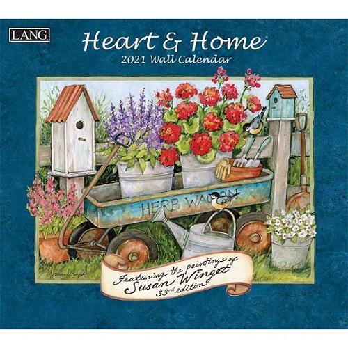 USAカレンダー2022 LANG ラング Heartf&Home ハート&ホーム