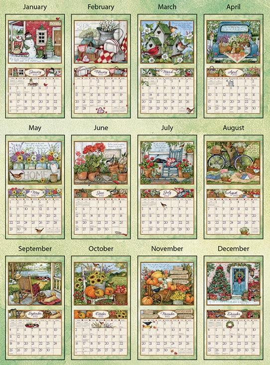 USAカレンダー2022 LANG<br>Bountiful Blessings バウンティフルブレッシング