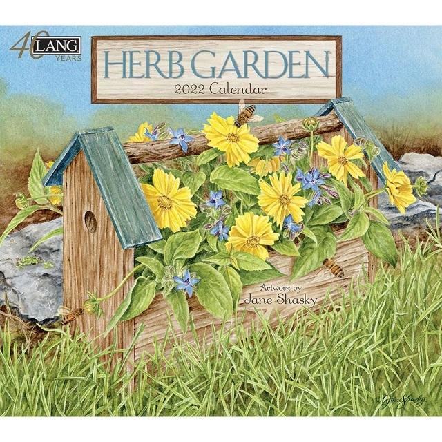 USAカレンダー2022 LANG<br> HERB GARDEN ハーブガーデン
