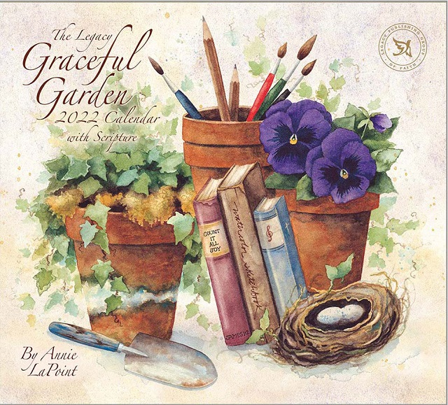 USAカレンダー2022 Legacy レガシイ<br>Graceful Garden グレイスフルガーデン