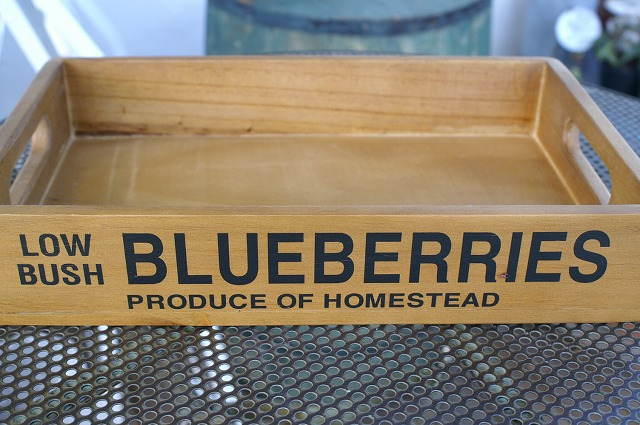 HS753F  ブルーベリーボックス アクシスの木箱