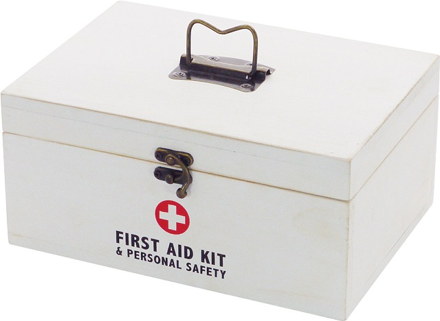 薬箱・救急箱 木製薬箱