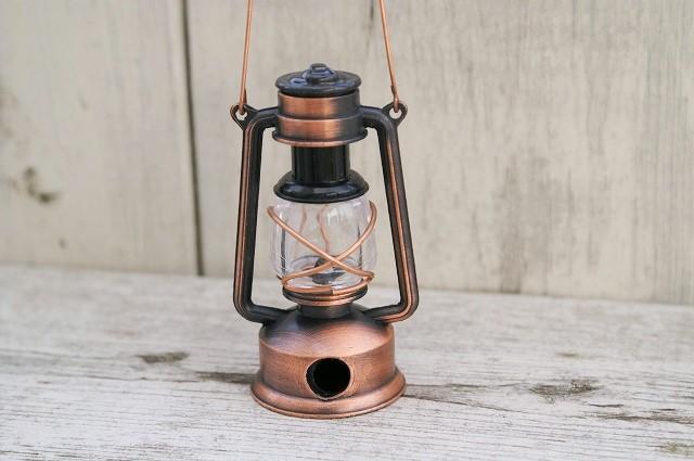 アンティークシャープナー ランプ <br>ミニチュアの小物