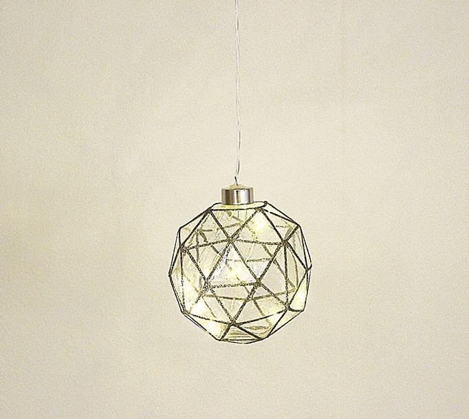 ハンギングLEDライト キューブライト 電池式室内用装飾ライト