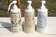 キッチンソープボトル サークル 陶器のソープボトル