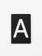 アイアンネームプレート 表札 アルファベット・ナンバー
