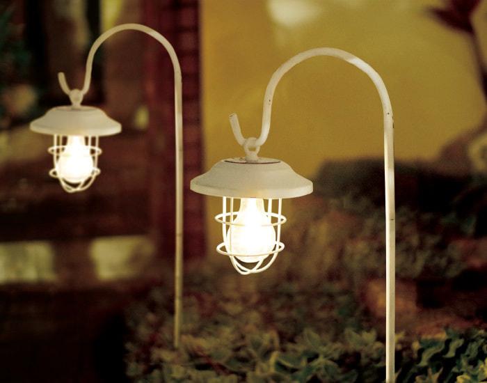 ソーラーガーデンライト LEDソーラーライト シャッテアンティーク