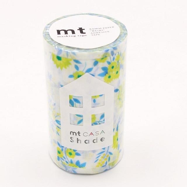 インテリア用装飾テープ 窓用遮光用テープ CASAシェード 花柄