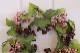 ベリーリース モーブ 造花 E5954  造花のリース
