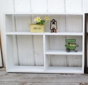 ディスプレーボックス ウッドシェルフ 飾り棚