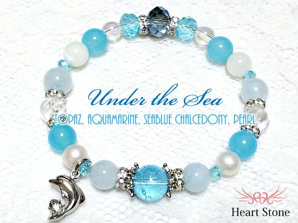 海の天使♪幸せを運ぶイルカブレス★Under the Sea+。