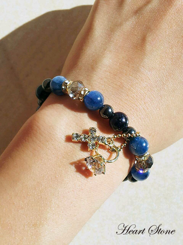 深く美しいブルーのグラデーション・カイヤナイト!Blue Grandy fairy★