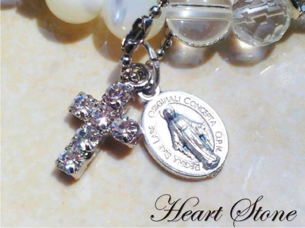 【Shell★】自然に慈愛の心を育て真実の愛を導く☆マザーオブパールAAA×水晶AAAAA♪