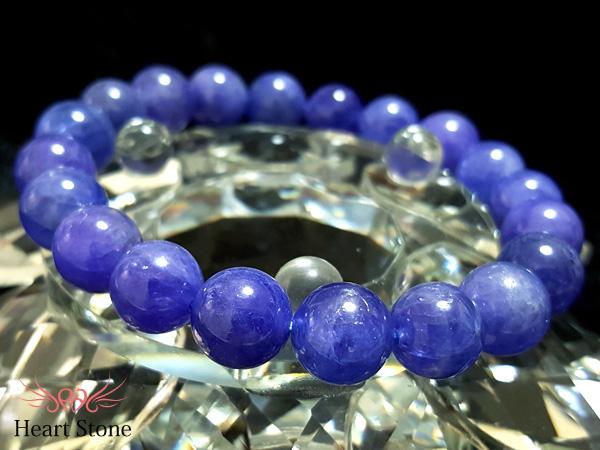 【プレミアム・限定1点】高品質!極上青紫・濃厚発色タンザナイト10ミリ