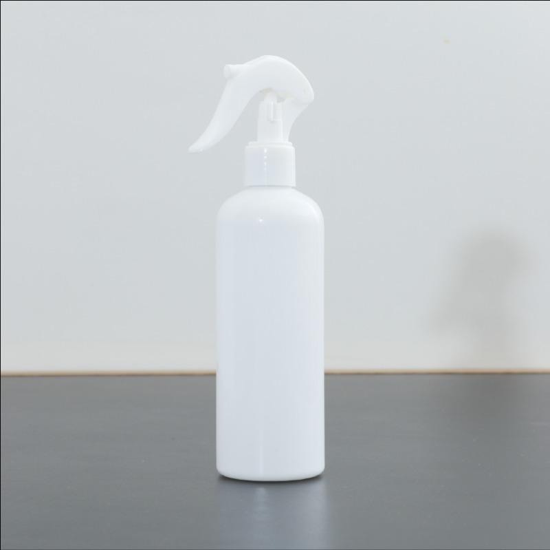 TERRA テラ<BR>スプレーボトル (空)<BR>次亜塩素酸水,アルコール対応 遮光容器<BR>《300ml/12本セット1BOX/ホワイト》<BR>BOTTLE_1BOX12