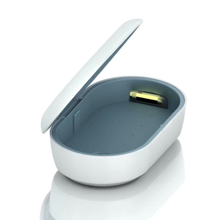 IQLabo アイキューラボ<BR>ワイヤレス充電UV除菌ボックス<BR>ワイヤレス充電器機能 / アロマ機能付き<BR>IIQ-WCUV