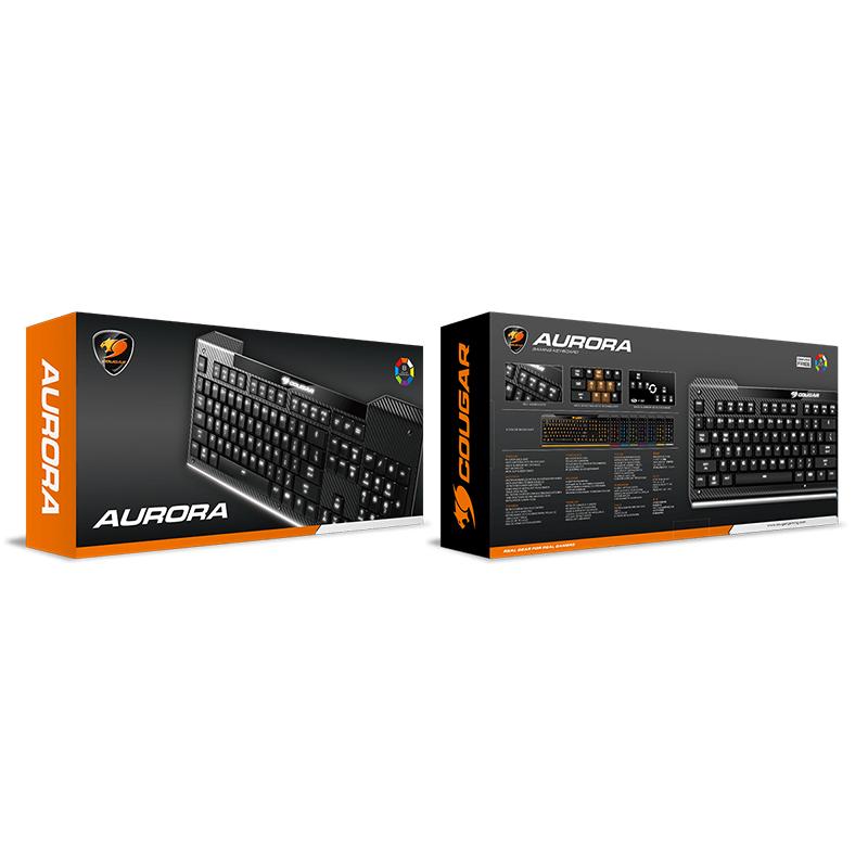 Milestone マイルストーン<BR>COUGAR <BR>ゲーミングキーボード<BR>AURORA<BR>CGR-AURORA