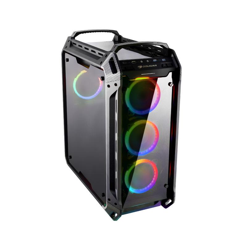 Milestone マイルストーン<BR>COUGAR <BR>フルタワーゲーミングPCケース<BR>PANZER EVO RGB<BR>PANZER EVO RGB